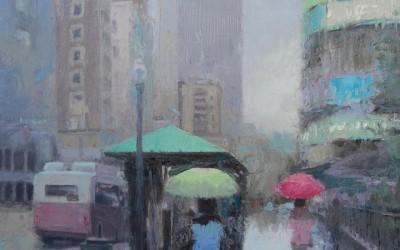 Capitol Square Rain
