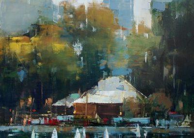 Centrl Park Sail Boats