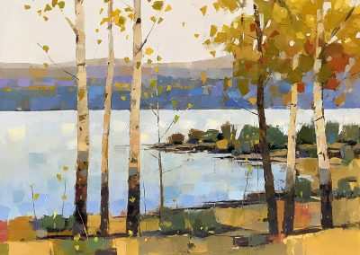 Lake Birches 30x40