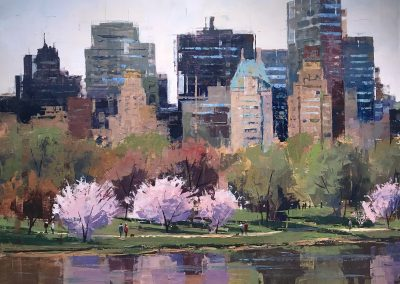 Springtime in Central Park Series1