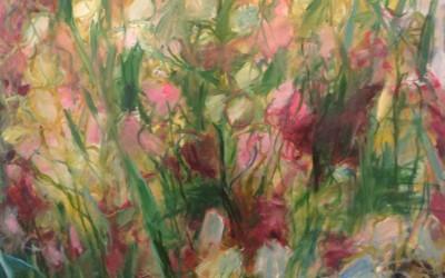 Roses Behind