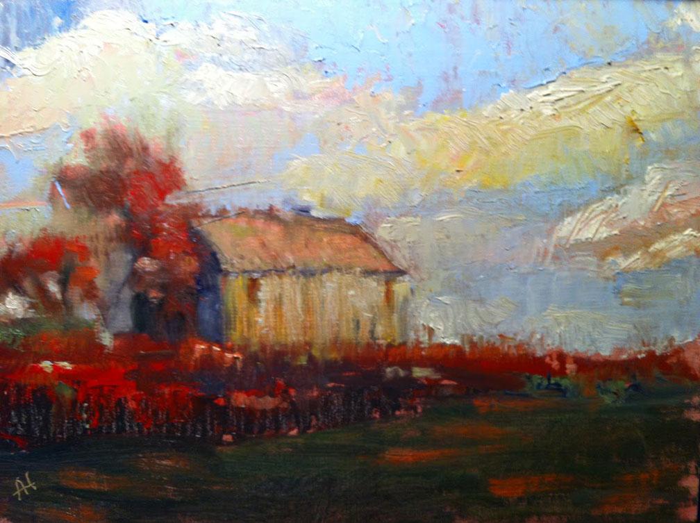 art field red - photo #36