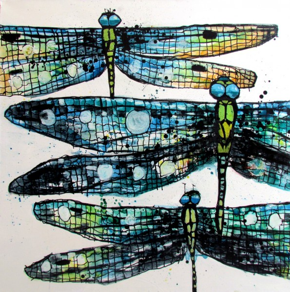 Unclose Dragonflies by Jeff Meadows