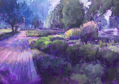 """Huntington Garden 48 x 72"""""""