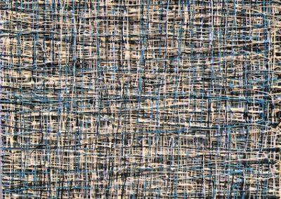 Blue Silver Wire